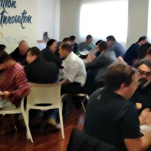 41 Chef dalla Grecia a Rimini per conoscere le novità della pasta Canuti