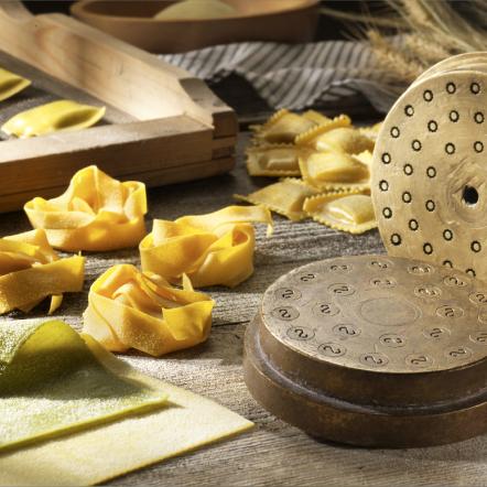 Ricette Gourmet<br /> Sfoglia sottile<br /> Alta percentuale di ripieno<br /> Trafilatura lenta al bronzo