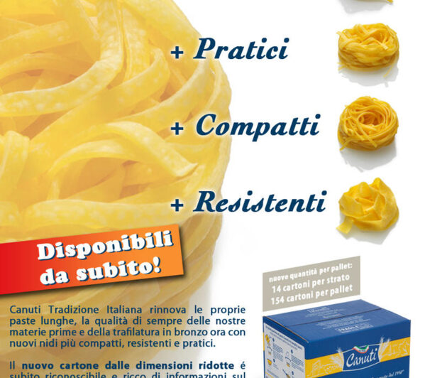nuove paste lunghe