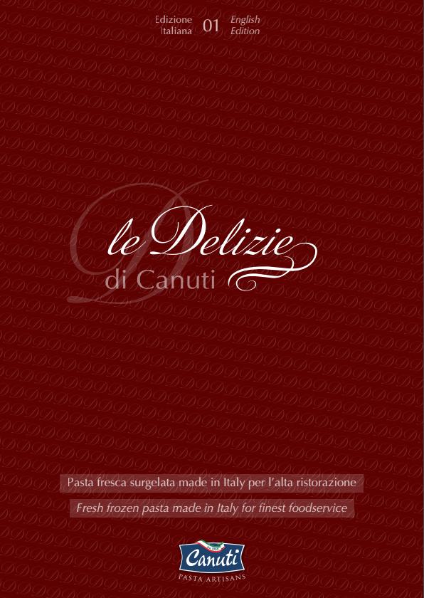 """Catalogue lines<br /> """"le Delizie""""</p> <p>ITALIANO / ENGLISH"""
